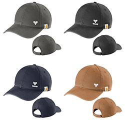 CARHARTT COTTON CANVAS CAP